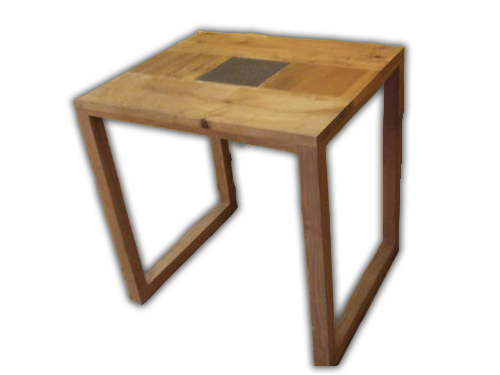 table carr e tendances decos. Black Bedroom Furniture Sets. Home Design Ideas
